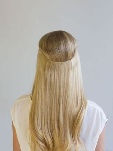 100g Flip in thick human remy secret invisible wire hair extension ...