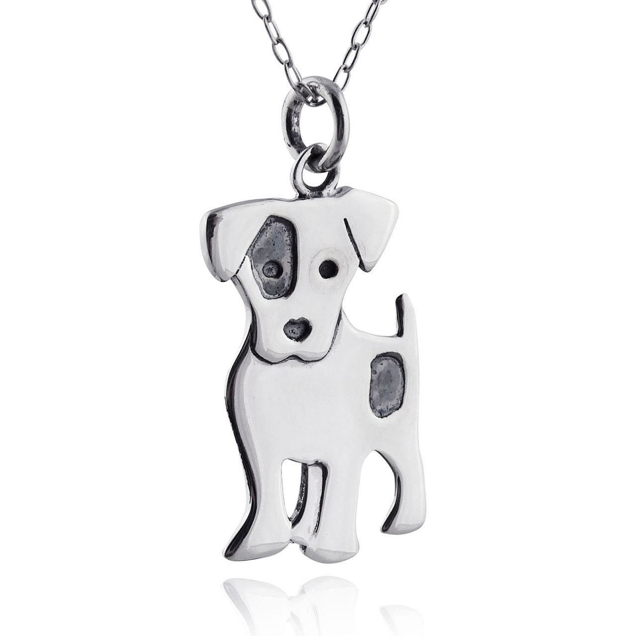 Jack Russell Terrier 925 Silver Dog Earrings aZY5ghJw