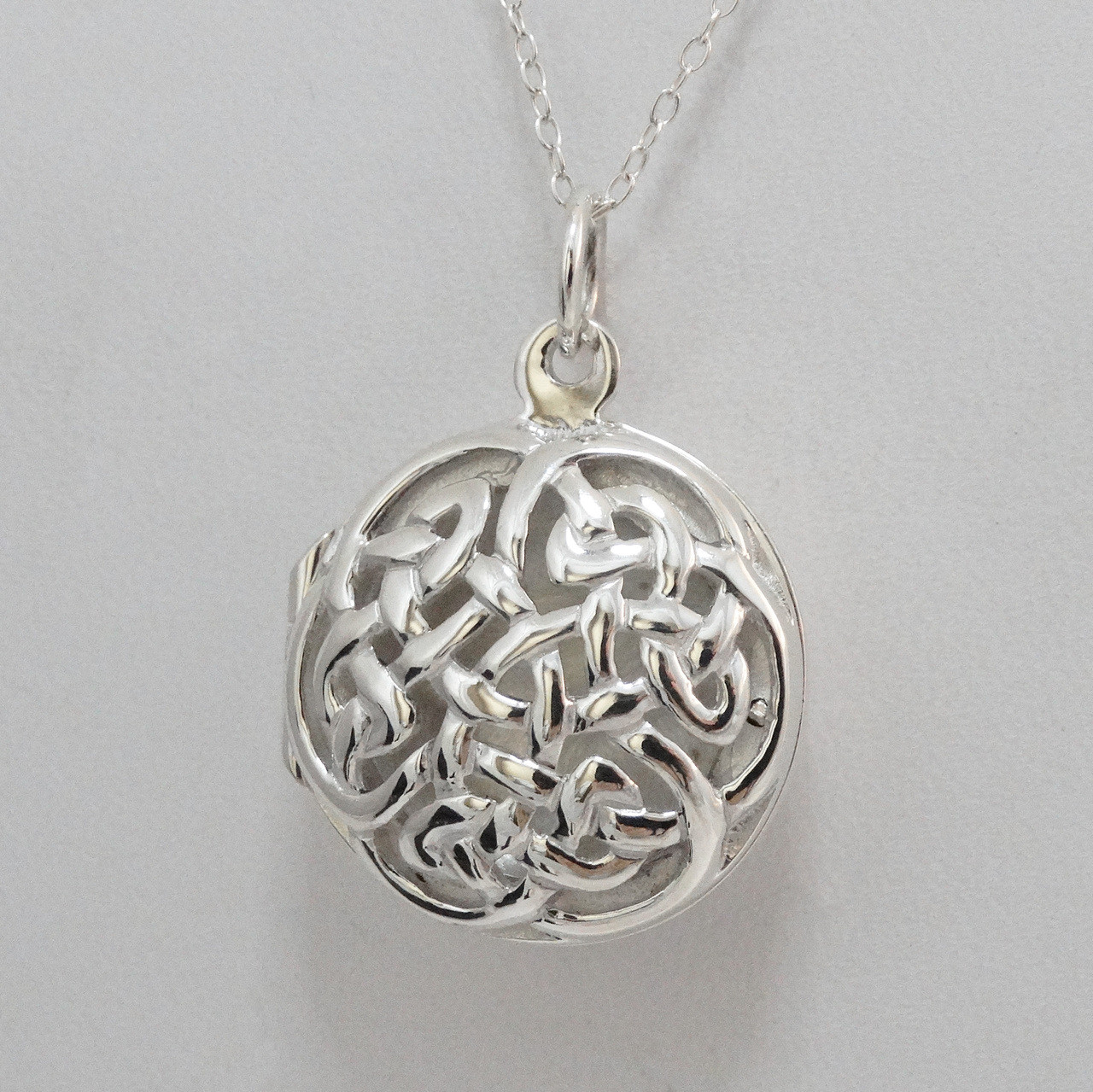 locket celtic shaped engraved htm p sterling lockets oval silver
