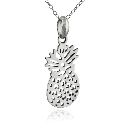 shopping pendant women necklace farfetch pineapple retrouvai item