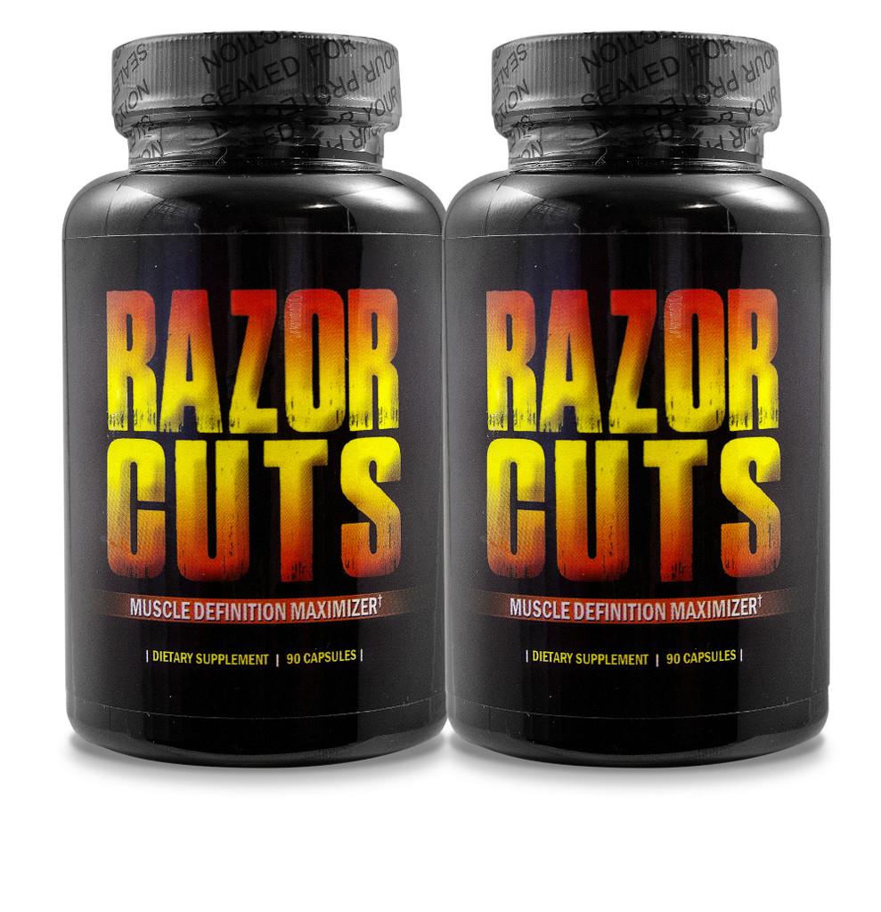 Razor Cuts - Buy 1 Get 1 at Half Price