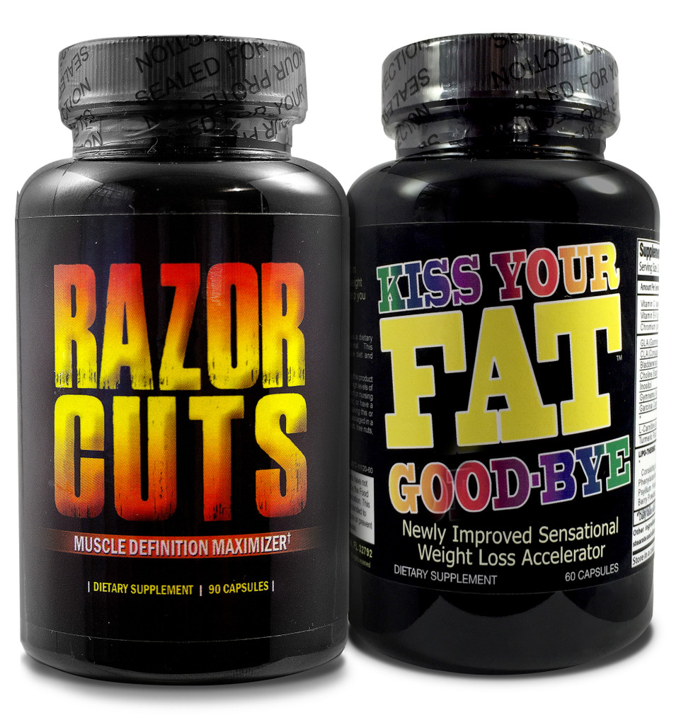 Razor Cuts & Kiss Your Fat Goodbye - Fat Burner Combo
