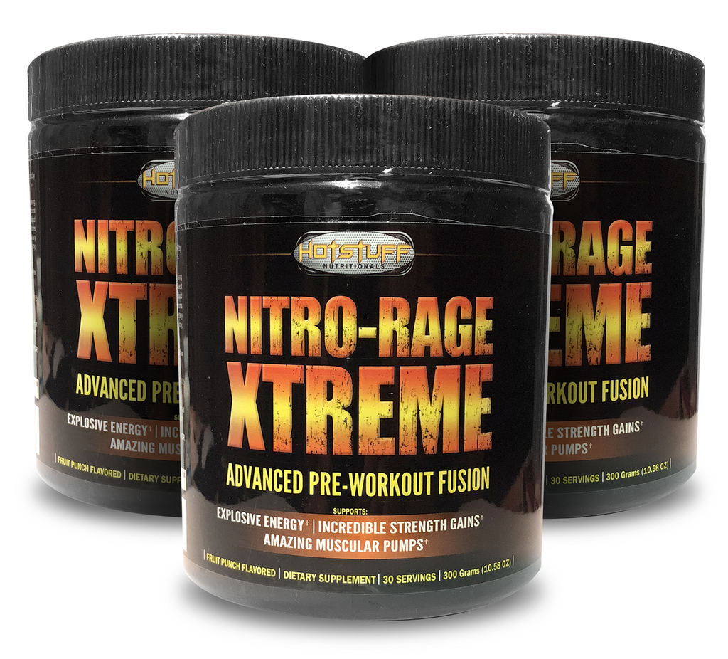 Nitro-Rage Xtreme - Advanced Pre-Workout Fusion