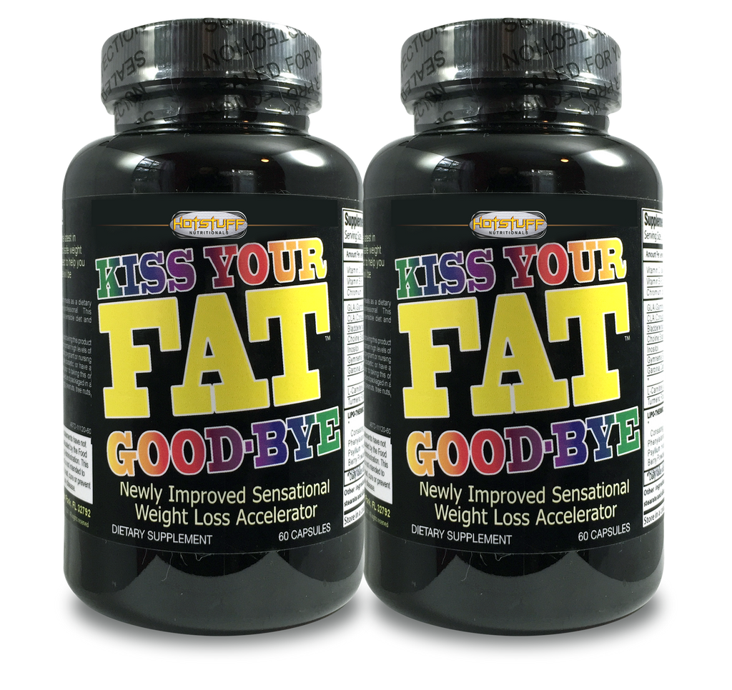 Kiss Your Fat Goodbye - Buy 1 Get 1 At Half Price