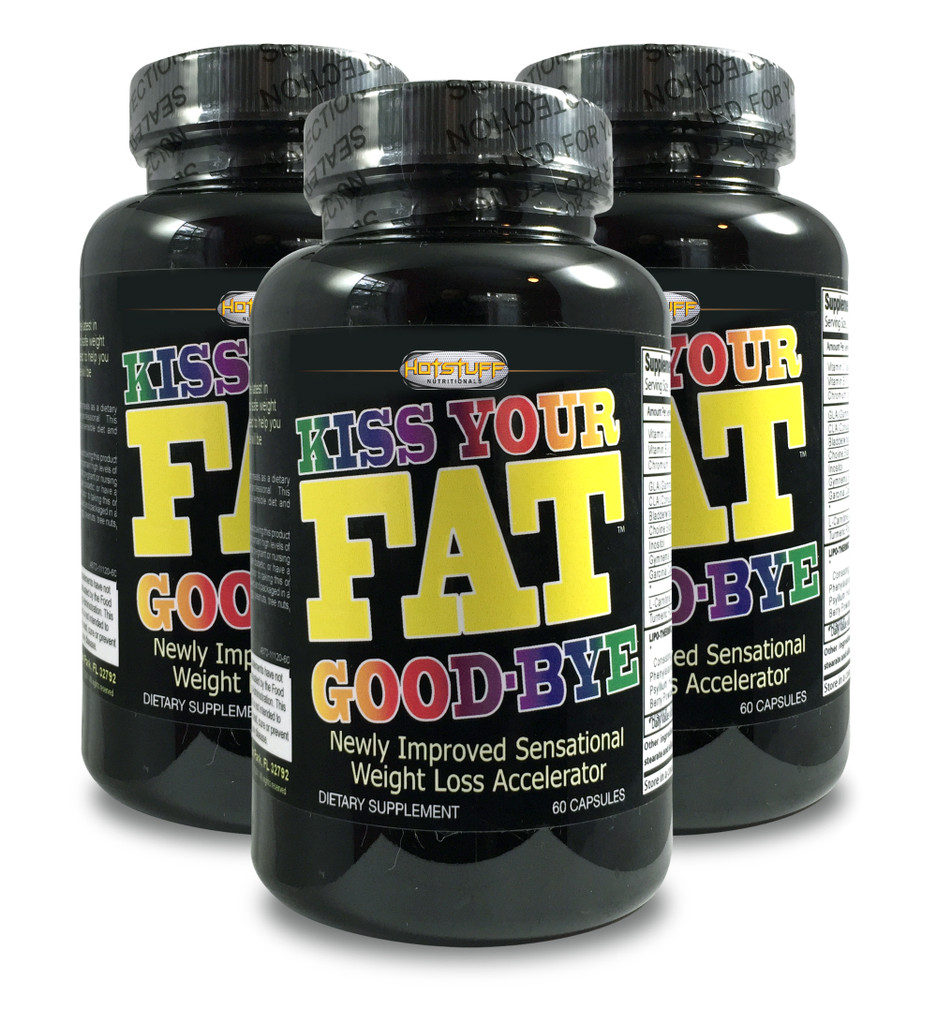 Kiss Your Fat Goodbye - Buy 2 Get 1 Free!