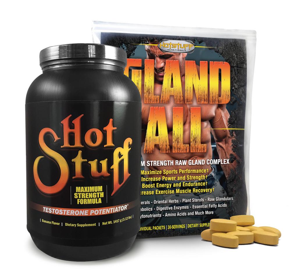 Hot Stuff Chocolate Flavor & Gland-All Anabolic Combo