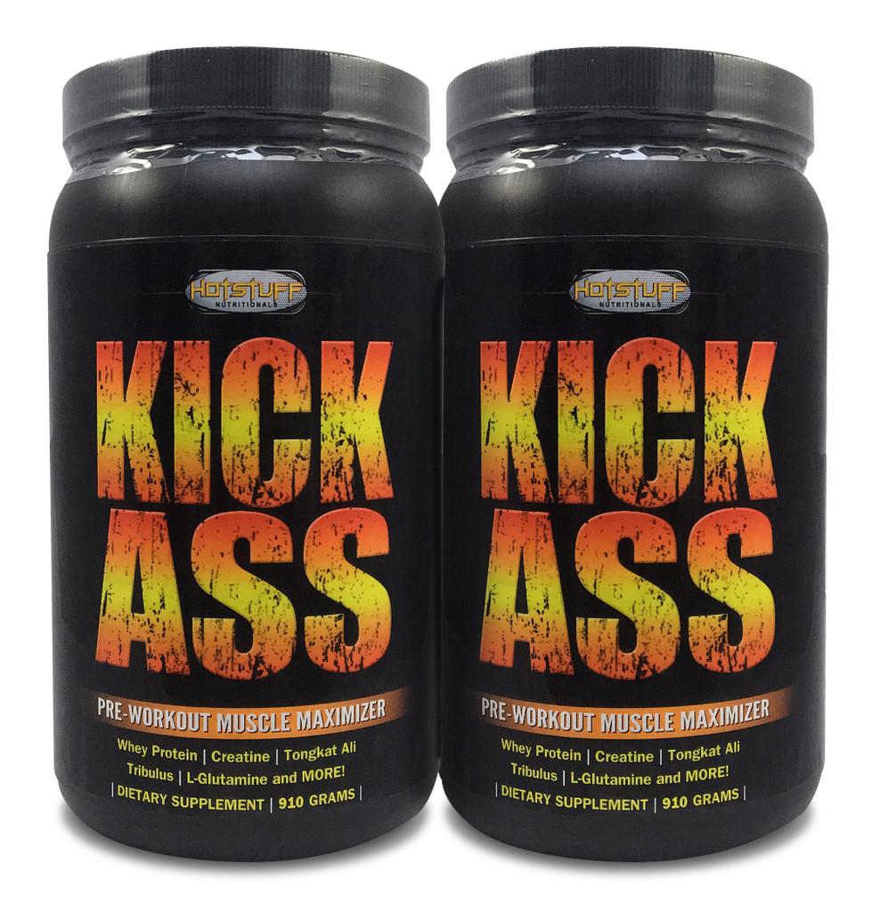 Kick Ass - Pre-Workout Muscle Maximizer