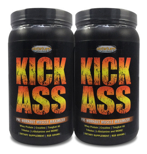 Kick Ass - Pre-Workout Muscle Maximizer