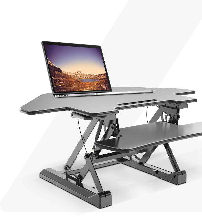 Adjustable sit stand computer desk for your life style