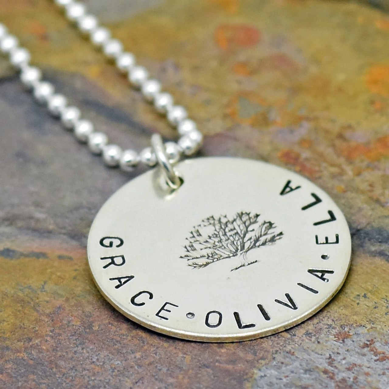 by resized tales earth the shop personalised necklace silver occasion tree reverse day nkl disc family from mothers
