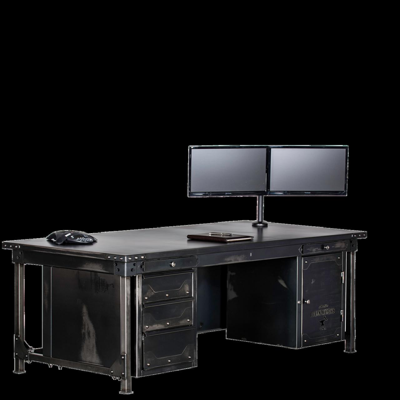 rhino office furniture. Ironworks Executive Desk Rhino Office Furniture