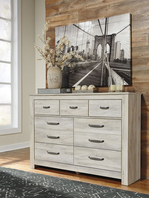 The Shay Almost Black 7 Pc Dresser Mirror Chest Amp King