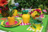 Kid's Tutti Frutti Party Package - Complete Party Kit place setting detail