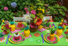 Kid's Tutti Frutti Party Package - Complete Party Kit full table