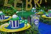 Preppy Golf Party Package - Complete Party Kit full table detail