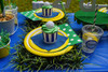 Preppy Golf Party Package - Complete Party Kit place setting