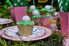 Girls Golf Party Package - Complete Party Kit place setting detail