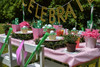 Girls Golf Party Package - Complete Party Kit full table angled
