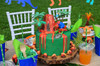 Dinosaur Party Package - Complete Party Kit volcano cake center piece