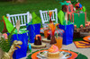Dinosaur Party Package - Complete Party Kit full table angle detail