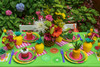 Adult Tutti Frutti Party Kit - Complete Party Package - Tabletop