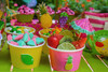 Adult Tutti Frutti Party Kit - Complete Party Package - Dessert Cart - Treat Cups