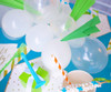 Balloon Cloud Garland Kit - Paper Airplane Party Kit