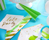 Place Setting - Paper Airplane Party Kit