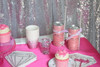 Bachelorette Bash Party Box Diamond Napkins