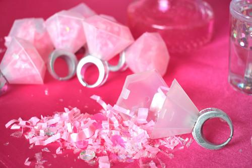 Confetti Filled Rings Bachelorette Bash Party Kit