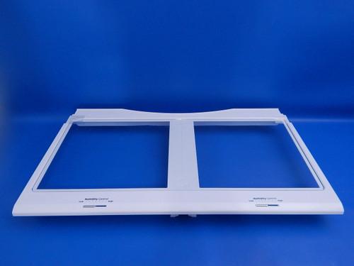 Samsung Bottom Mount Refrigerator RF28HFEDTSR Crisper Cover Assembly DA97-08511A