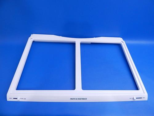 LG Bottom Mount Refrigerator LFC25765ST Crisper Cover Frame ACQ85626203