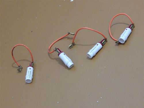 Jenn Air Slide In Electric Range Oven SVE47500B Burner On Lights 71001301