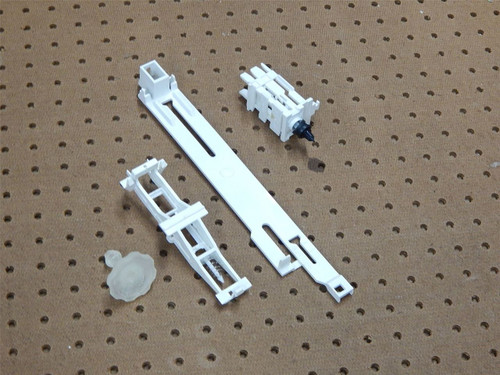 Whirlpool Dishwasher DU930PWSQ1 Dispenser Actuator & Draw Bar 3369505 3369448