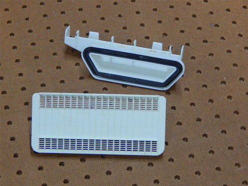 Whirlpool Dishwasher DU930PWSQ1 Vent Assembly & Screen 3379674 3371710