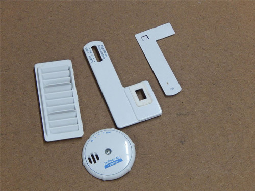 Whirlpool GS5SHAXNL00 Refrigerator In Door Air Control Covers Vents Trim 2261601