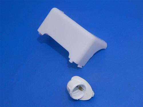 Whirlpool Refrigerator ED5VHEXVQ00 Freezer Light Cover & Socket 2171706 2162085