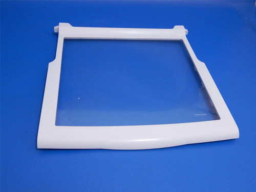 Whirlpool Side By Side Refrigerator ED5VHEXVQ00 Slide Out Glass Shelf 2309524 WPW10276348