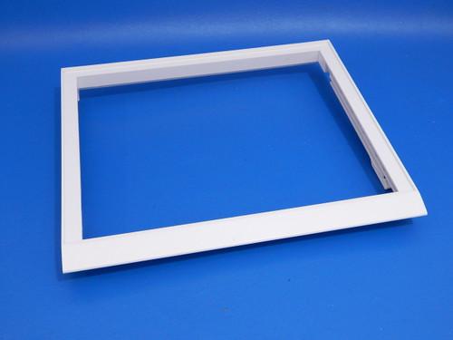 Whirlpool Side/Side Refrigerator ED5LHAXWS00 Upper Crisper Cover Frame 2209698