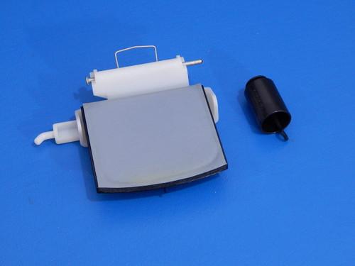 Whirlpool Side By Side Refrigerator ED5RHAXNB00 Ice Door & Hinge 2206423 2180353