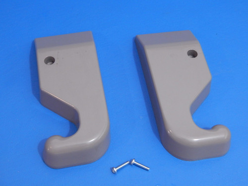 Whirlpool 3 Door Refrigerator WRF990SLAM02 Hinge Covers W10471618 W10407158