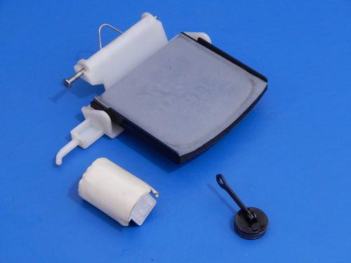 Whirlpool Side By Side Refrigerator ED5VHEXVQ01 Ice Door & Hinge 2180353 2304355