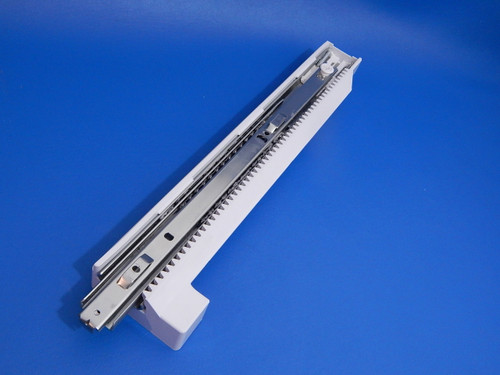 GE 3 Door Refrigerator GNE25JGKCF Left Lower Freezer Drawer Slide WR72X24815