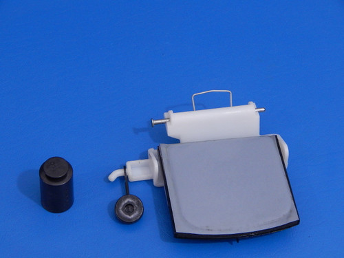 Whirlpool Side By Side Refrigerator ED5FHAXST00 Ice Door & Hinge 2180353 2304355