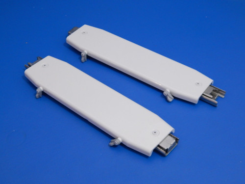 GE 3 Door Refrigerator PFSS5NJWA Pantry Drawer Slides WR72X10282 WR72X10281