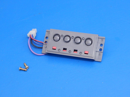 Frigidaire Side By Side Refrigerator FRS26LH5DB5 Dispenser Buttons Switch 241679