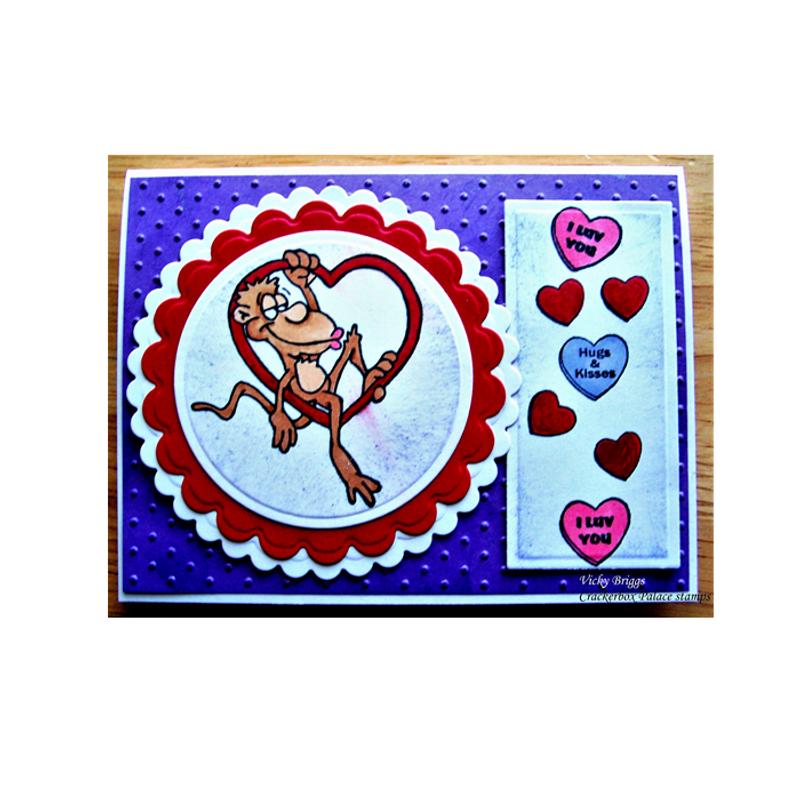 Hearts & Monkey