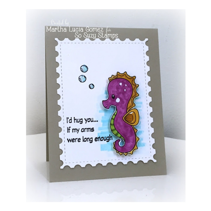 Polo Sea Horse, I'd Hug You by Martha