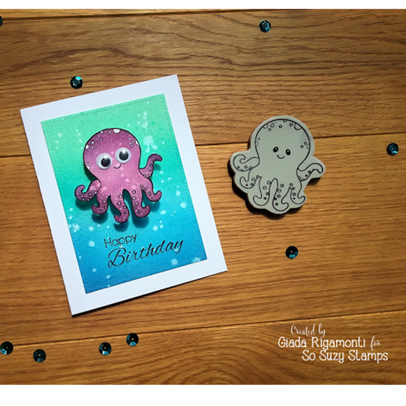 Pluto, the coolest octopus by Giada