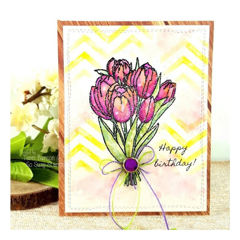Tulip Bouquet by Terri